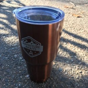 Other - Adventure awaits/Brittney coffee thermos